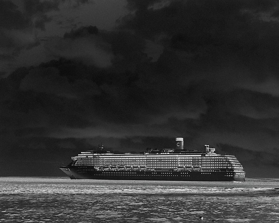 Cruise Ship Photograph - Midnight Magic by Gary Wonning