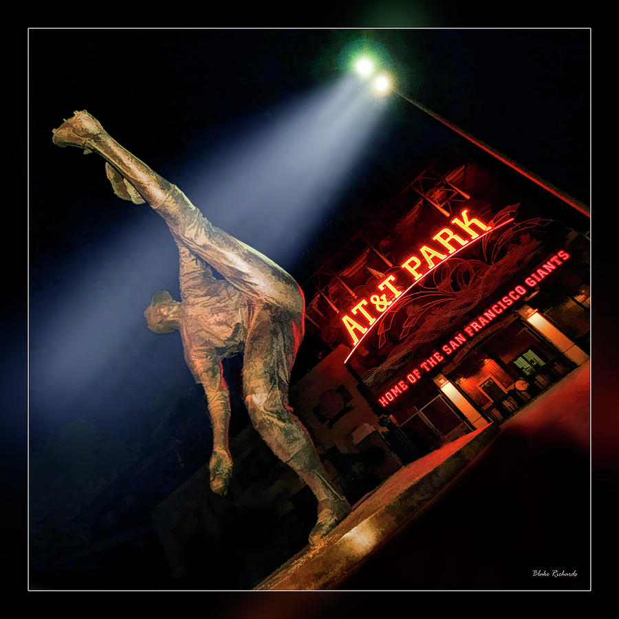 Att Park Photograph - Midnight Windup by Blake Richards
