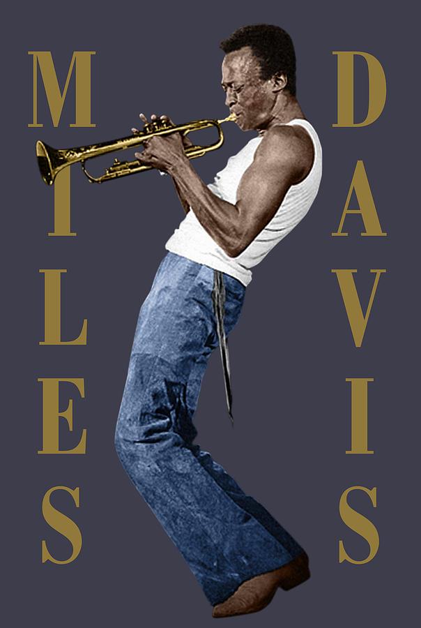 Miles Davis Digital Art - Miles Davis by David Richardson