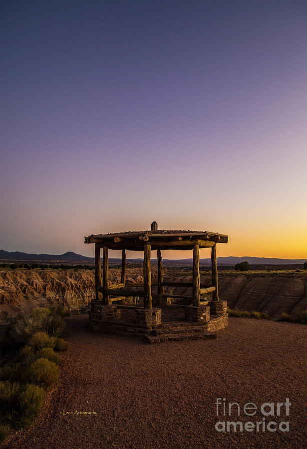 Cathedral Gorge Gazebo by Stephen Mitchell