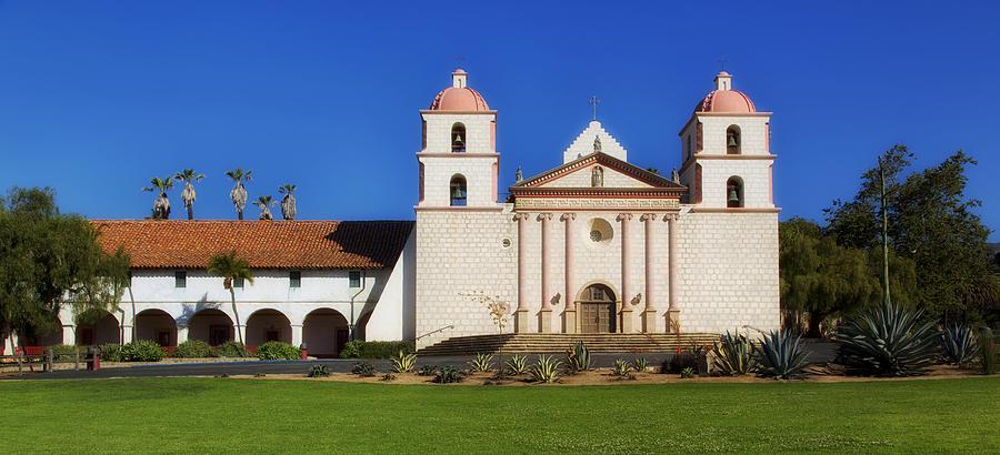 Mission Santa Barbara Photograph - Mission Santa Barbara by Mountain Dreams