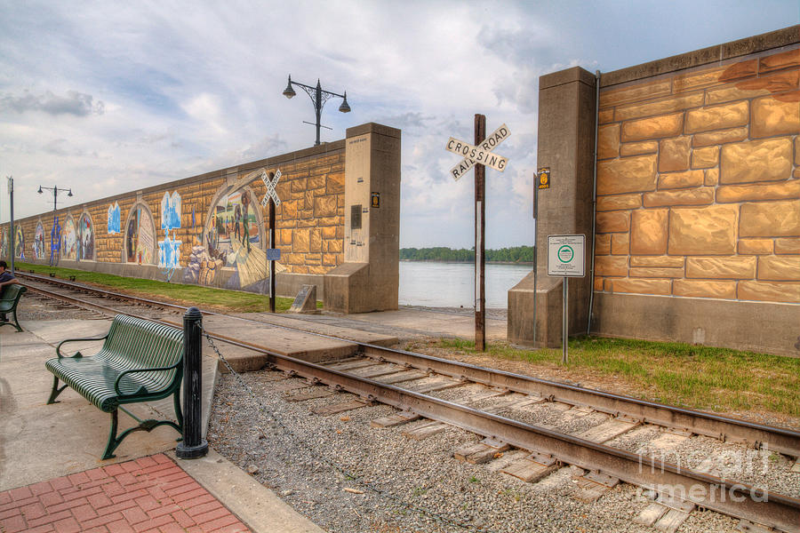 2012 Photograph - Mississippi River Tales by Larry Braun