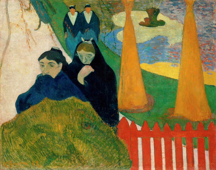 Mistral Painting - Mistral by Paul Gauguin