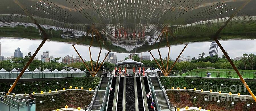 Taiwan Photograph - Modern Subway Station Design In Taiwan by Yali Shi