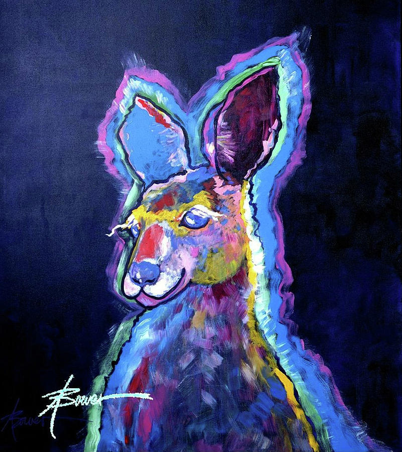 Mona Lisa 'Roo by Adele Bower