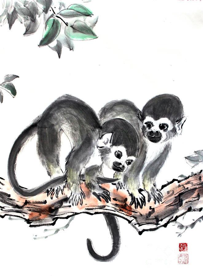 Monkeys by Fumiyo Yoshikawa