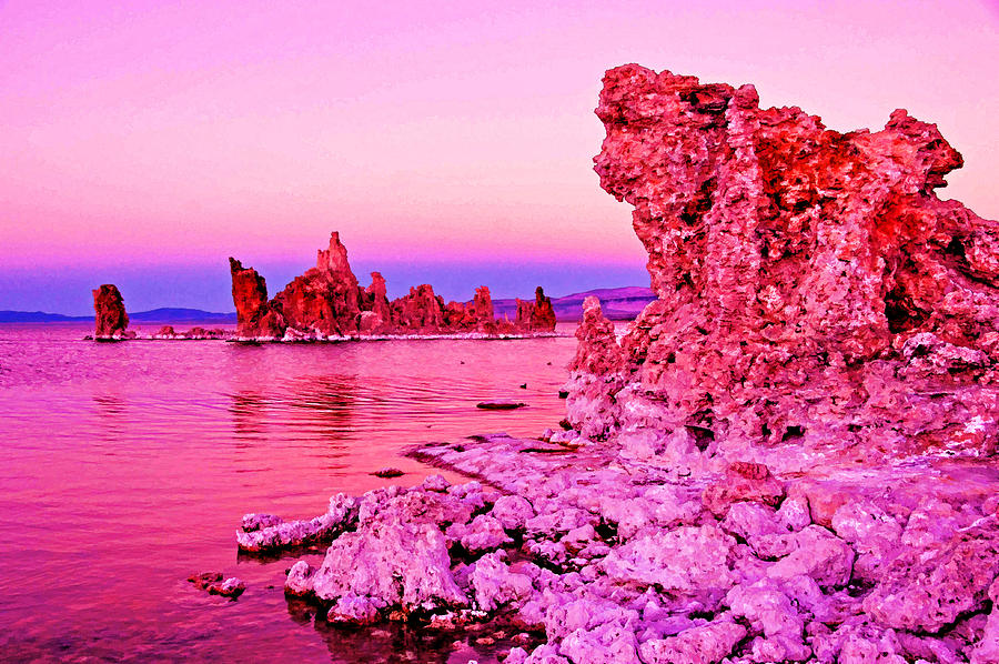 California Photograph - Mono Lake Dawn by Dennis Cox