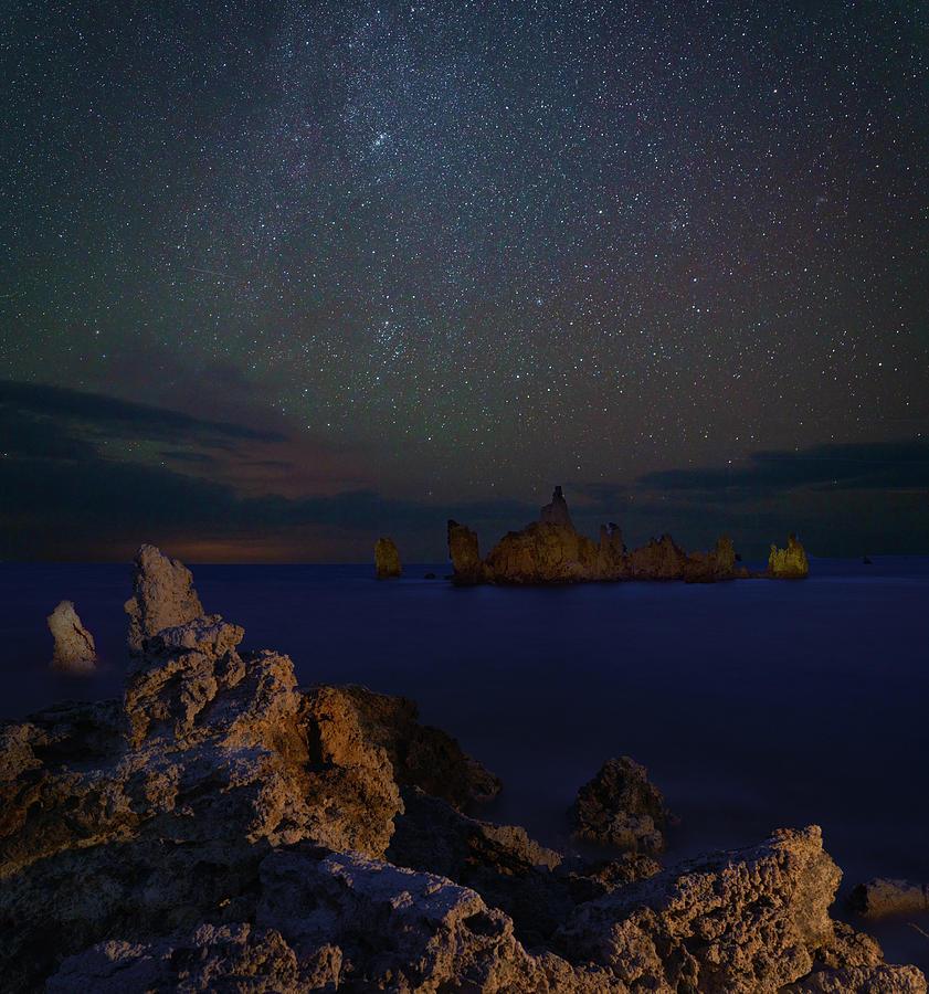 Mono Lake Tufa by Hal Mitzenmacher