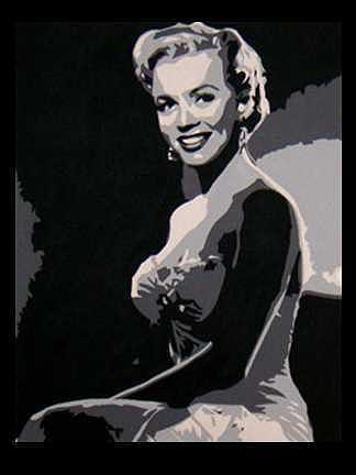 Marilyn Monroe Painting - Monroe by Michael James Toomy