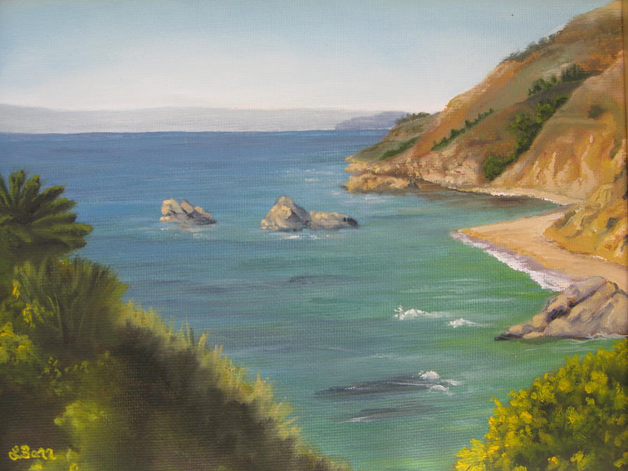Seascape Painting - Monterey II by Lisa Barr