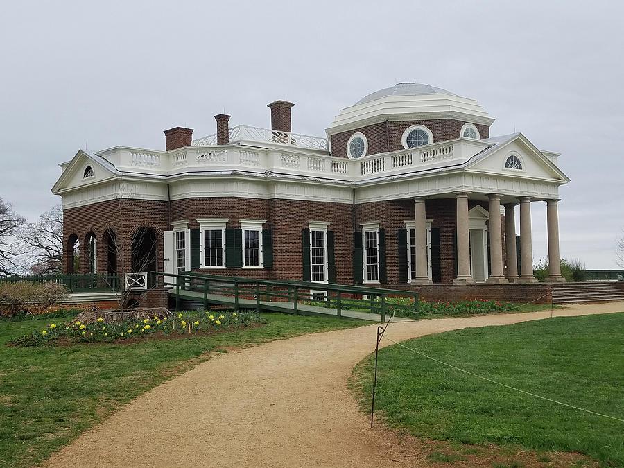 Thomas Photograph - Monticello  by Johnny McNabb