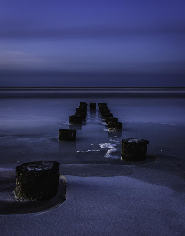 Moon Glow Photograph by Steve DuPree