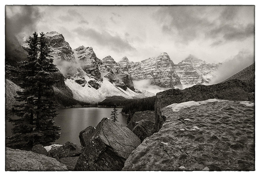 Canada Photograph - Moraine Lake by Robert Fawcett