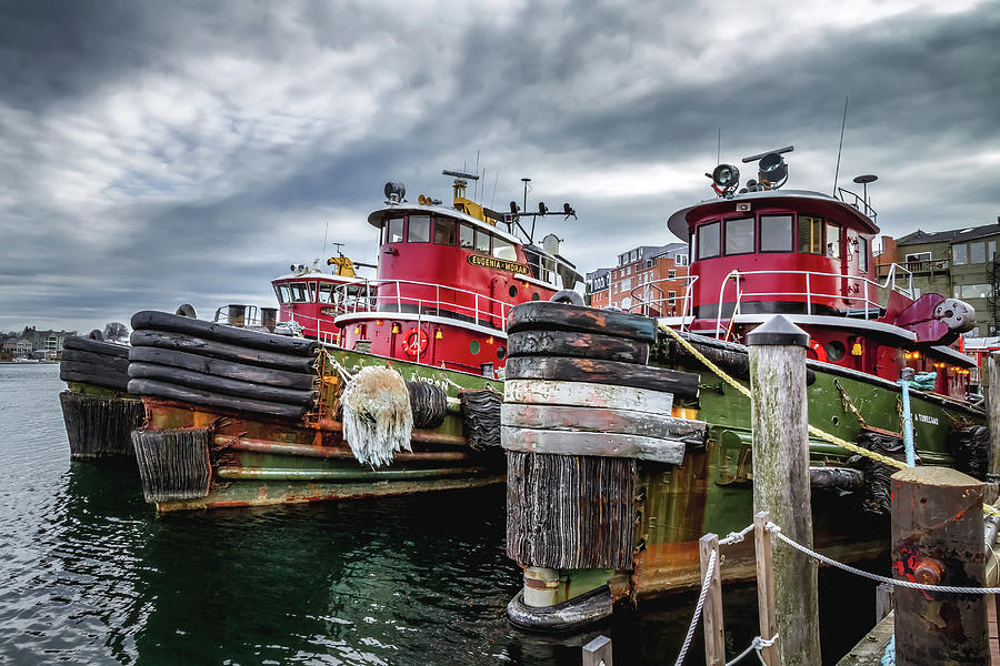 Moran Towing TugBoats by Robert Clifford