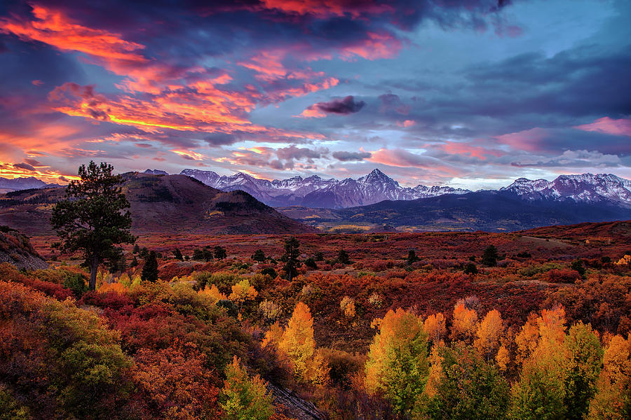 Morning Drama In The Colorado Rockies Photograph