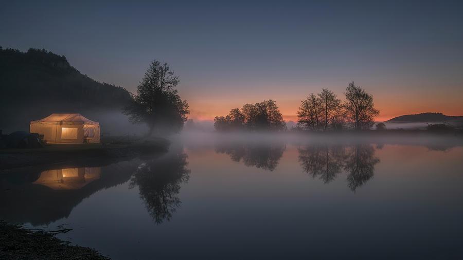 Morning Glow Photograph