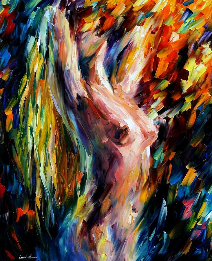 Afremov Painting - Morning by Leonid Afremov