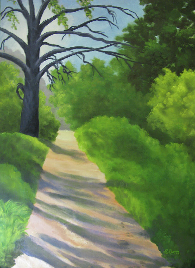 Morning Trail in Placerita Canyon by Lisa Barr