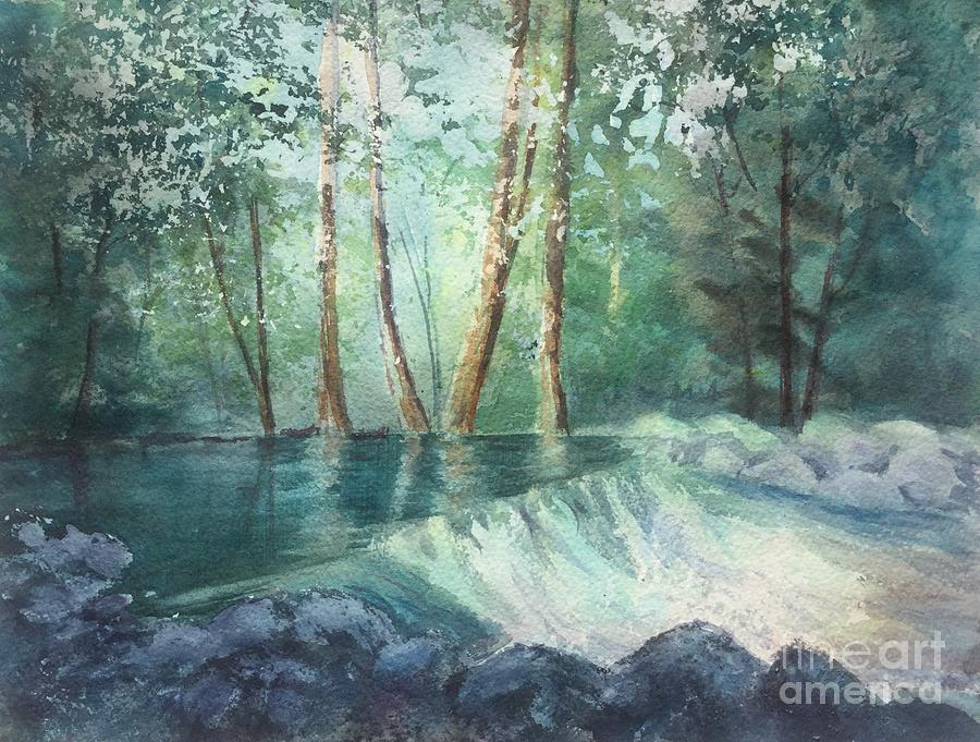Mosquito Creek 2 Painting by Watercolor Meditations