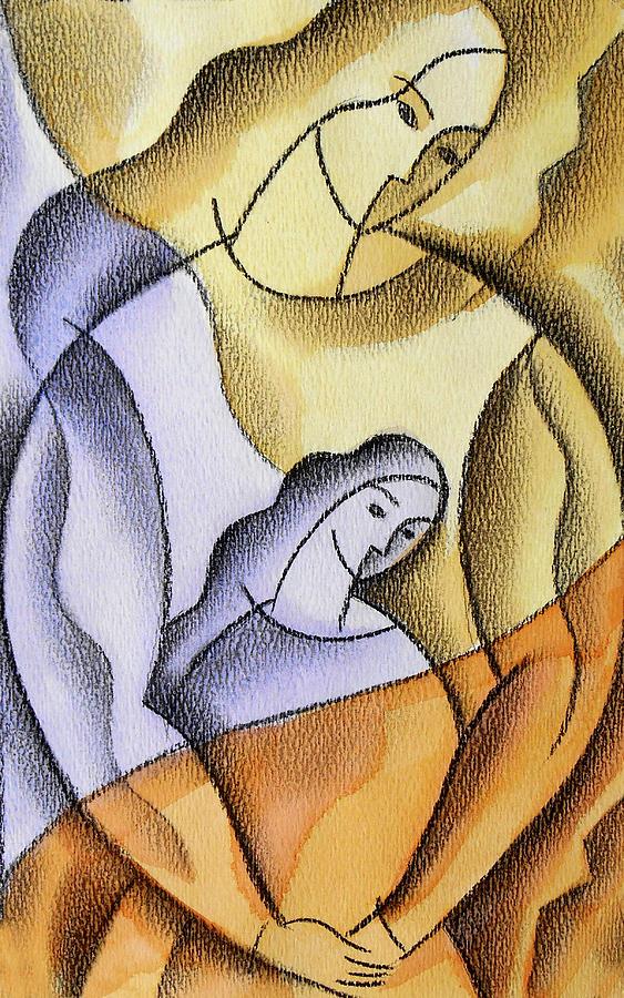 Mother Painting by Leon Zernitsky