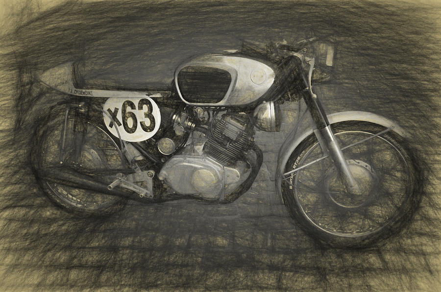 Motorcycle Photograph by W i L L Alexander