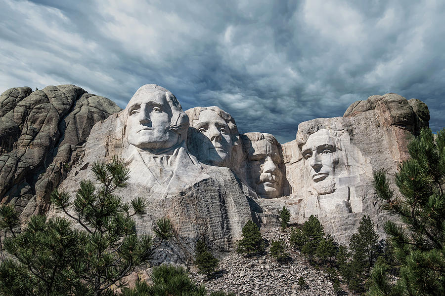 Mt. Rushmore Photograph - Mount Rushmore II by Tom Mc Nemar