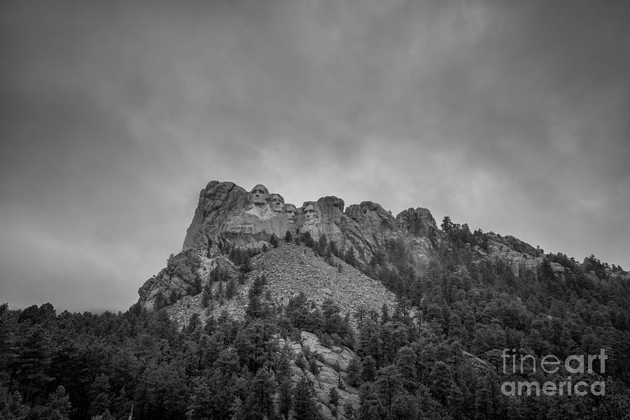 Mount Rushmore South Dakota Photograph