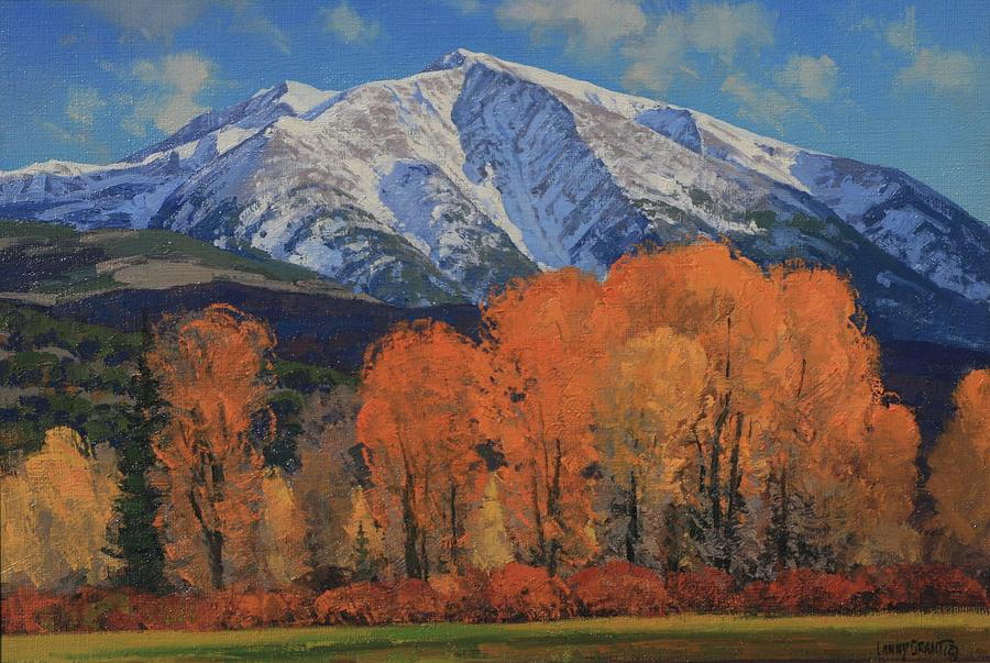 Landscape Painting - Mount Sopris by Lanny Grant