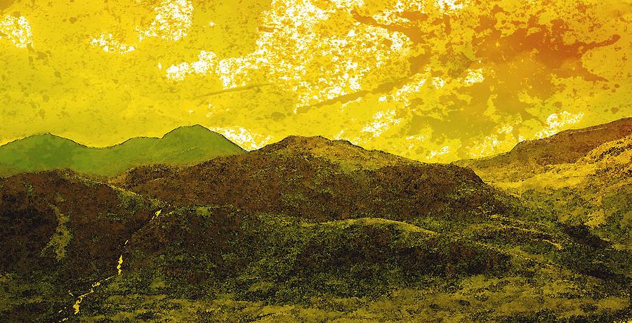 Mountains Digital Art