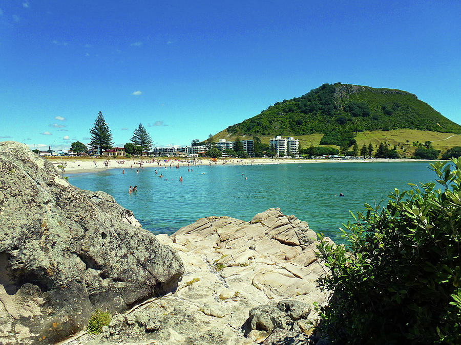 Mt Maunganui Beach 13 - Tauranga New Zealand by Selena Boron