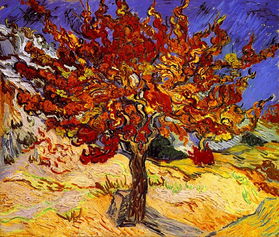 Vincent Van Gogh Painting - Mulberry Tree by Van Gogh