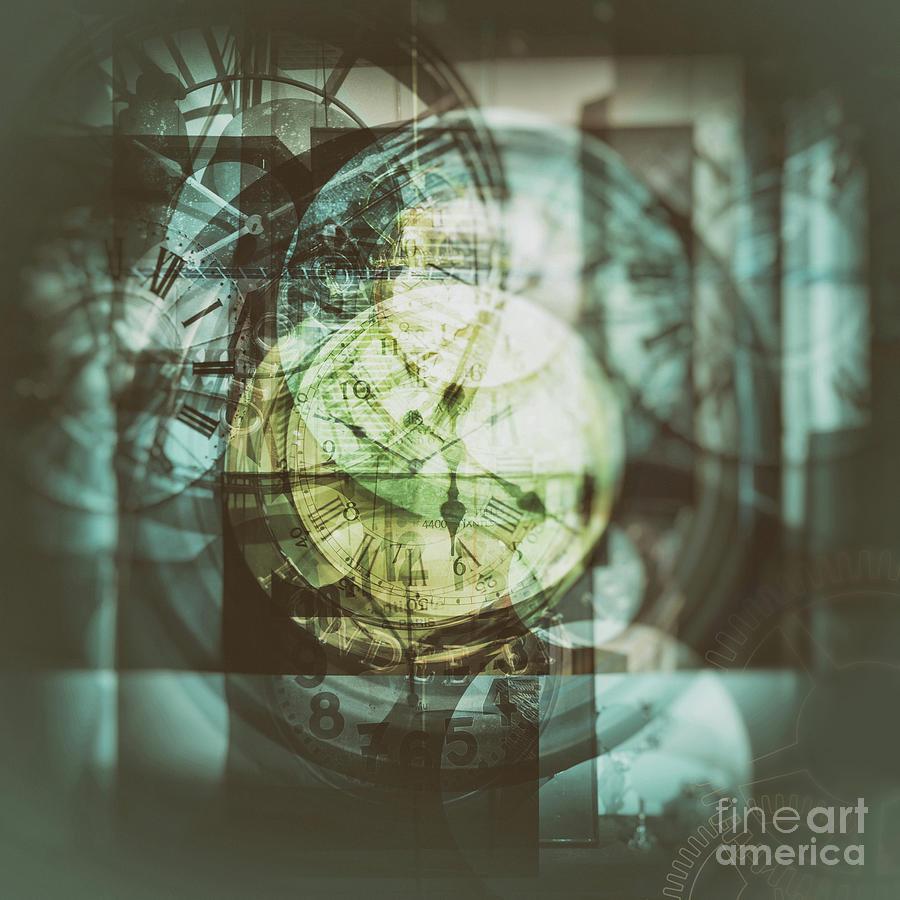 Multi Exposure Clock Photograph