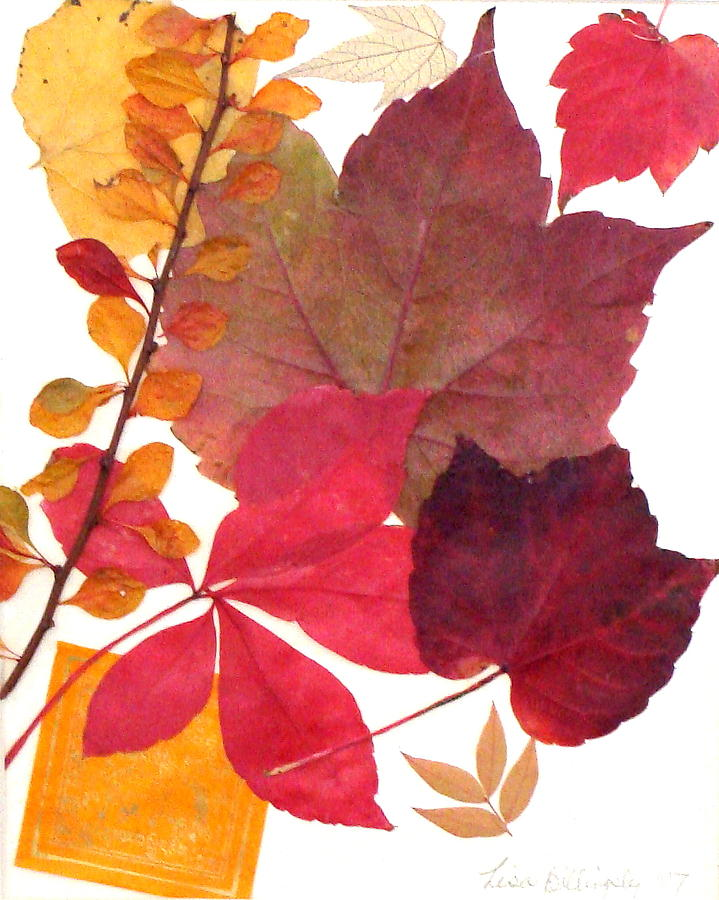 Fall Mixed Media - My Colors by Lisabeth Billingsley