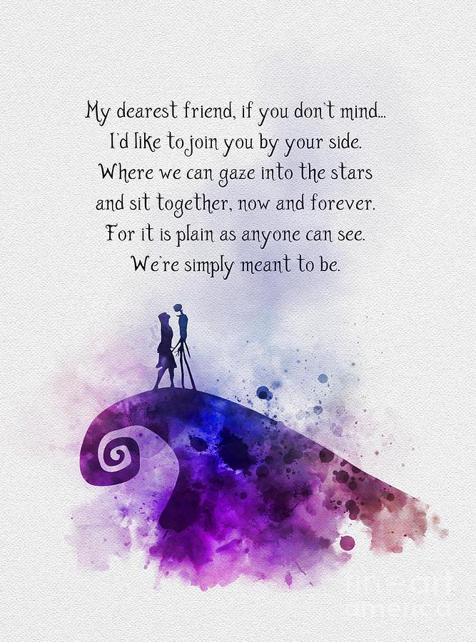 Jack Mixed Media - My Dearest Friend by My Inspiration