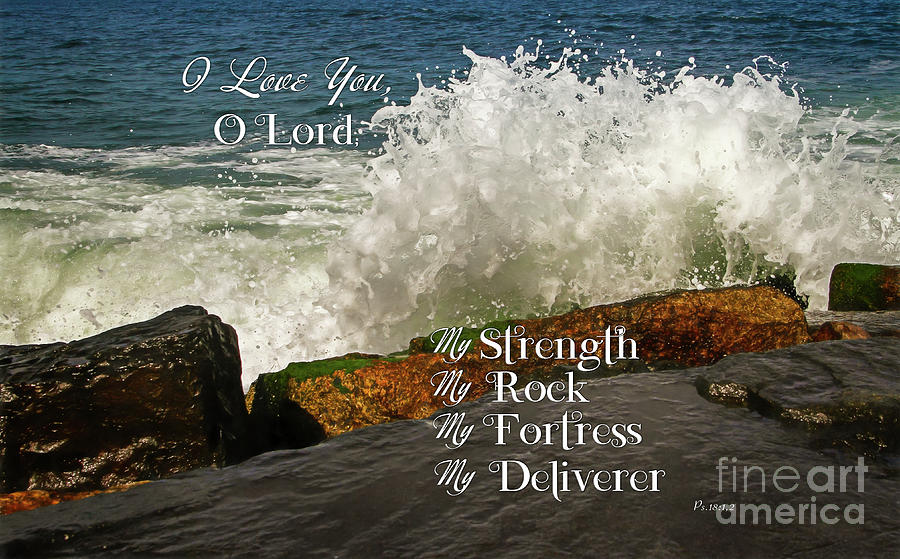My Rock And My Fortress Psalm 18 Photograph