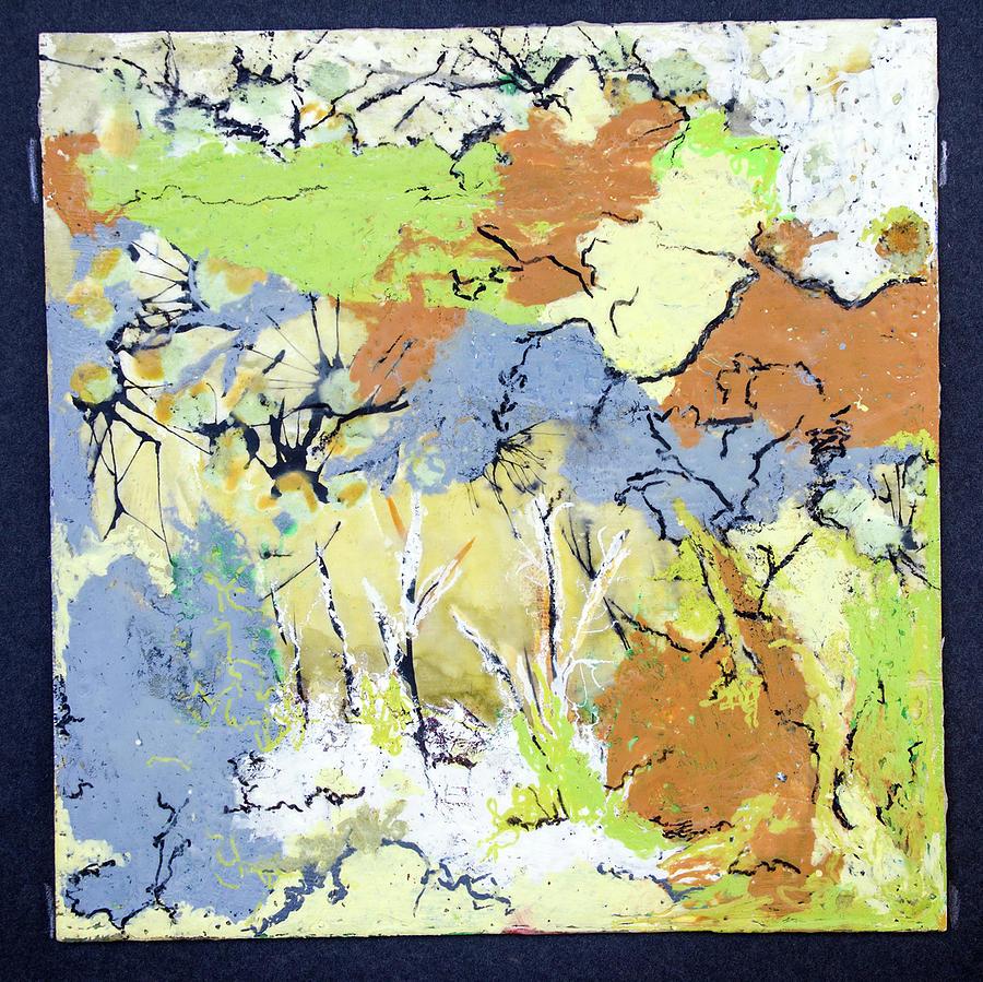 My Wild Garden Painting by Judith Ghetti Ommen