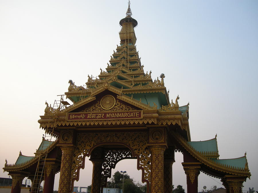 Buddhism Photograph - Myanmargate by Aim To Be Aimless