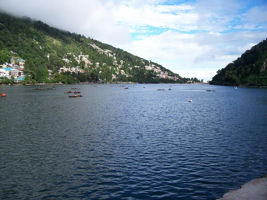Nainital Lake Photograph by SP Singh