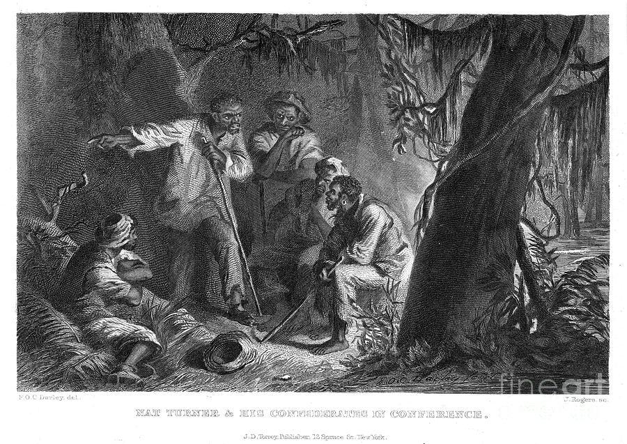 19th Century Photograph - Nat Turner (1800-1831) by Granger