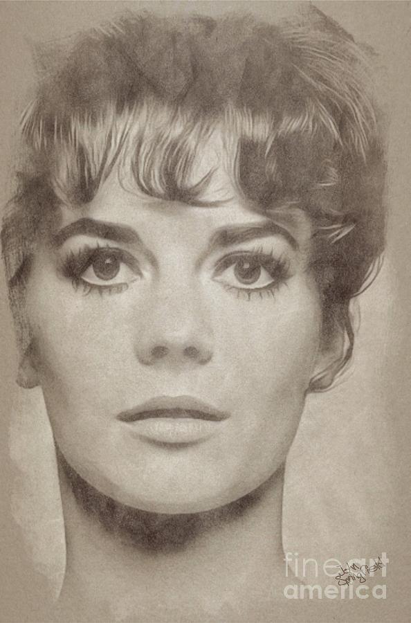 Natalie Wood, Actress Drawing