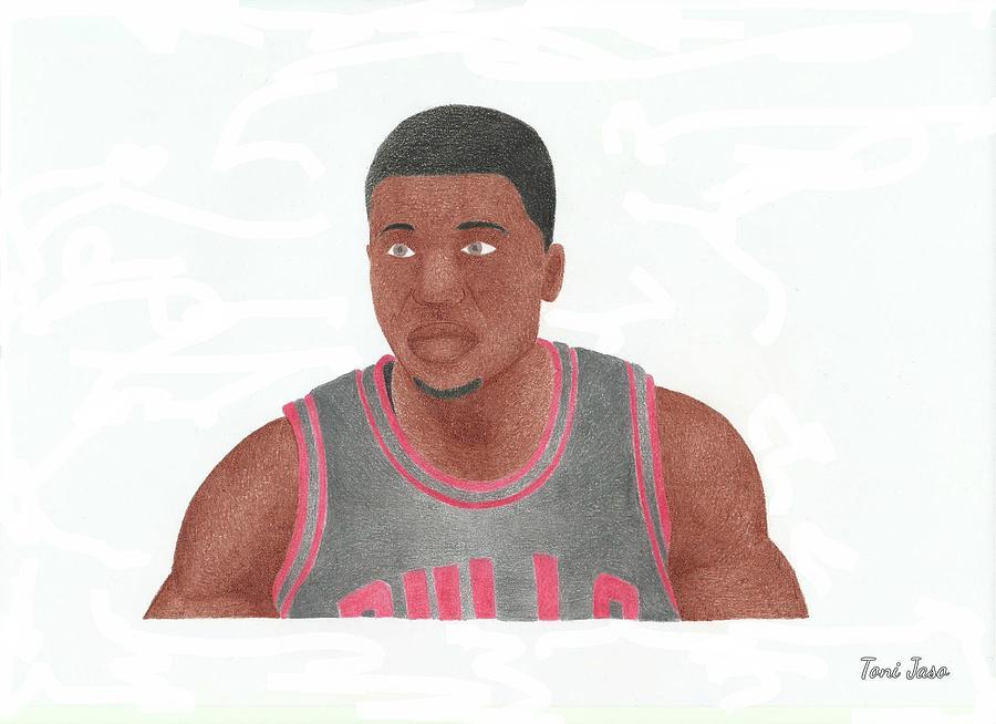 Basketball Drawing - Nate Robinson by Toni Jaso