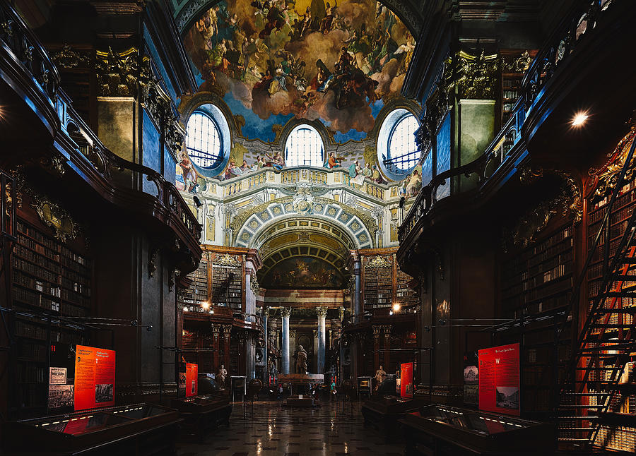 National Library, Vienna Photograph