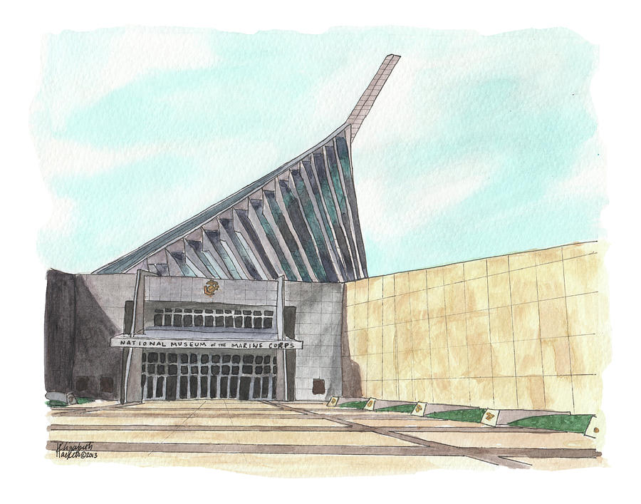 National Museum of the Marine Corps by Betsy Hackett