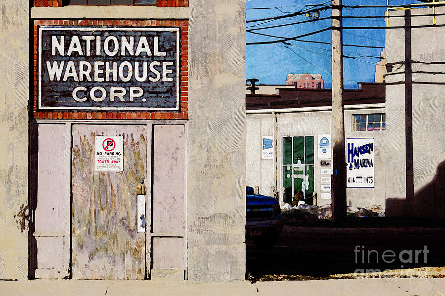 Milwaukee Digital Art - National Warehouse Corp by David Blank
