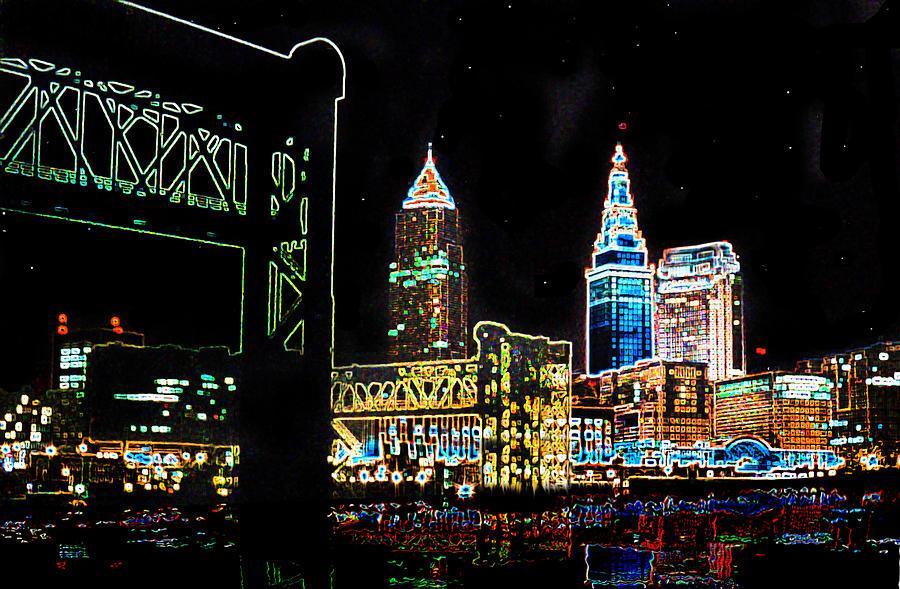 Neon Night Photograph