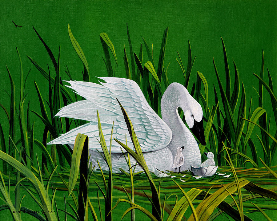 Bird Painting - New Addition by Don Griffiths