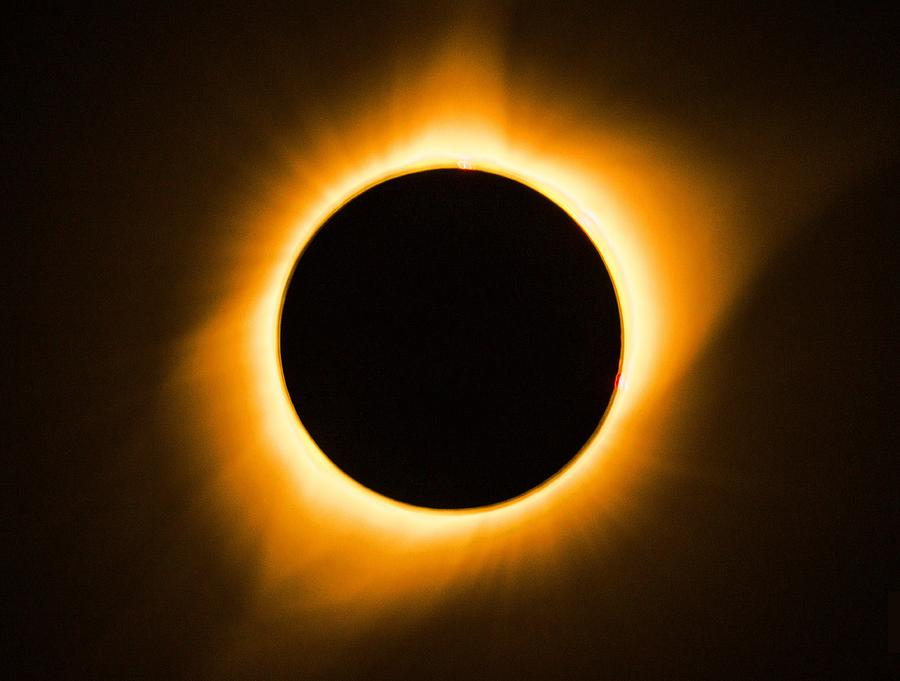 Solar Photograph - Total Eclipse by Benjamin Weilert