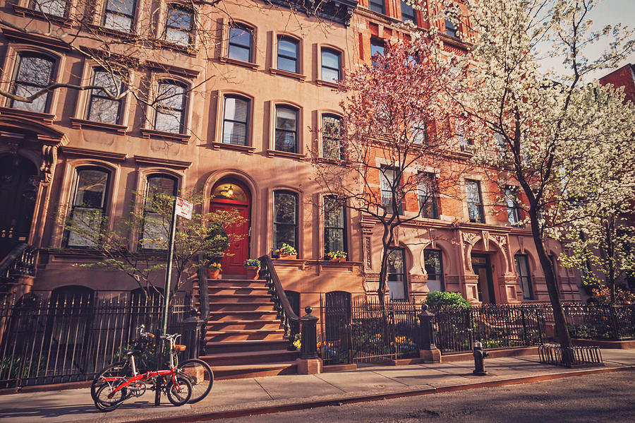 New York City Photograph - New York City - Springtime - West Village by Vivienne Gucwa