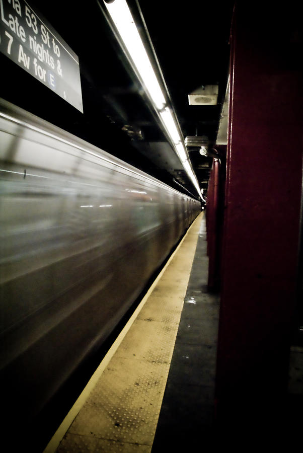 New York City Photograph - New York City Subway by Patrick  Flynn
