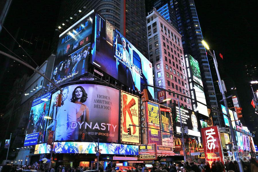 Destination Photograph - New York City Times Square by Douglas Sacha